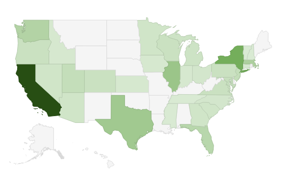 PPC jobs by State